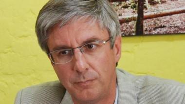 Sergio Ongarato, intendente de Esquel, uno de los abanderados.
