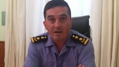 Comisario mayor Adrián Muñoz, segundo jefe de la Unidad Regional.
