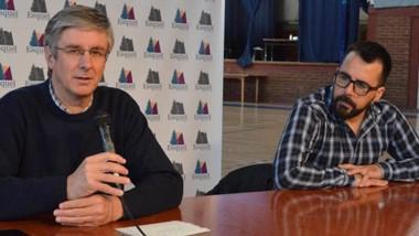 El intendente Ongarato y Matías Taccetta anunciaron la puesta en marcha de un programa de créditos.