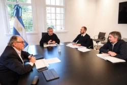 El presidente recibió en Olivos junto con el ministro Guzmán a los diputados Máximo Kirchner y Carlos Heller,  y definieron un único proyecto de impuesto a las grandes fortunas.