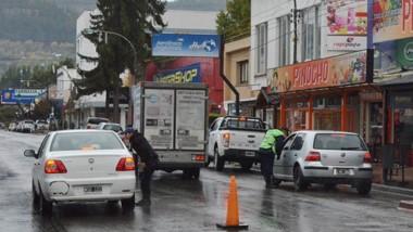 La Policía Federal y la Policía de Chubut hicieron controles en Esquel.