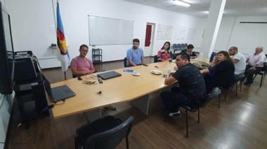 En la reunión, se trazaron pautas de trabajo internas en el Concejo Delibertante de Comodoro Rivadavia.