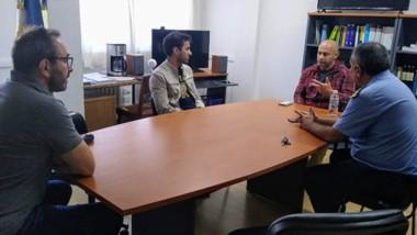 El ministro Massoni analizó las medidas con representantes de la Justicia Federal.