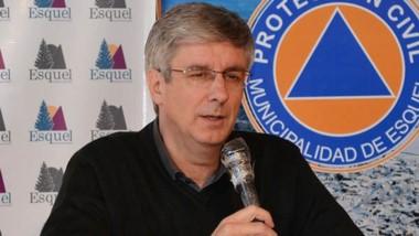 Sergio Ongarato, intendente de la ciudad de Esquel.