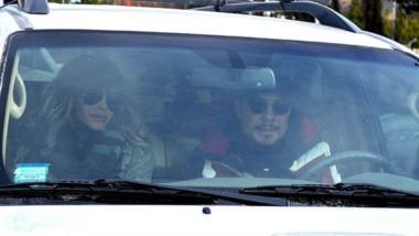Marcelo Tinelli y su familia partieron ayer a la mañana de Esquel.