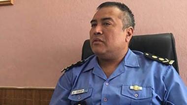 El jefe de la Unidad Regional Esquel, comisario mayor Víctor Acosta.