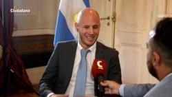 El secretario de Estado durante una entrevista reciente con los colegas de El Ciudadano.