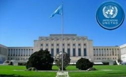 Sede de la Conferencia de las Naciones Unidas sobre Comercio y Desarrollo (UNCTAD).