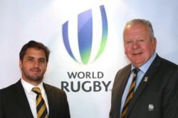 Llegó el día: Agustín Pichot busca manejar los destinos del rugby mundial en una reñida elección con Bill Beaumont.