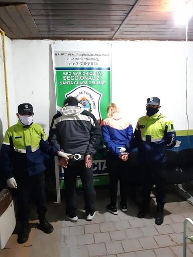 Padre e hija fueron detenidos por la policía de Mar del Plata.