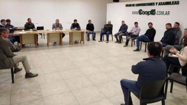 Las autoridades de la Cooperativa esquelense se reunieron con los intendentes de Esquel y Trevelin.