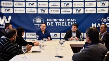 Maderna se reunió con los sindicatos a fin de garantizar servicios y dar asistencia a sectores vulnerables.