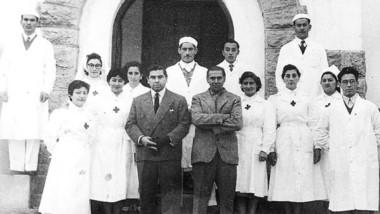 Sin cartel. El hospital de El Bolsón lleva el nombre de Rodolfo Venzano, precursor de la medicina pública en la cordillera