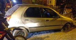 El vehículo Fiat Palio fue hallado en el barrio Moreyra y se comprobó que fue denunciado como sustraído.