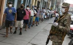 Perú entra en toque de queda total por coronavirus.