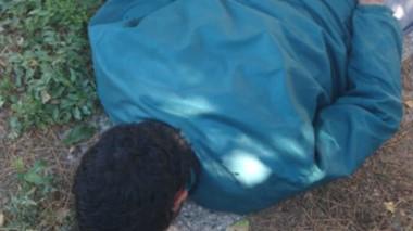 El joven paraguayo fue atrapado in fraganti delito en una casa de Km. 8.