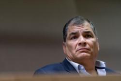 La Justicia también estableció, en su fallo, la pérdida de los derechos políticos de Correa por 25 años.