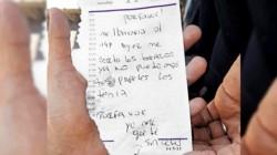 La joven se salvó por un pedido de ayuda que escribió en un papel que le hizo llegar a su vecina.