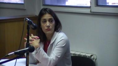 Julieta Gamarra. De la Fiscalía.
