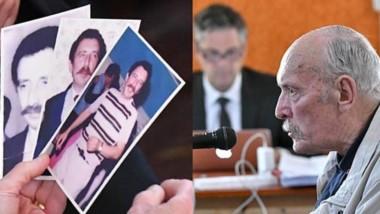 Símbolos. Tres fotos de Ángel Bel durante el juicio y el perfil de Nichols, responsable de aportar los datos para que el secuestro fuera posible.