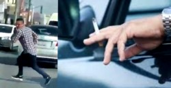 Un hombre se detuvo en un semáforo de Corrientes y en un descuido le robaron el cigarrillo que había encendido segundos antes. (Imagen ilustrativa)