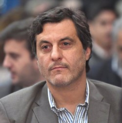 Adrián Awstin,  secretario de Pesca de la provincia  del Chubut.