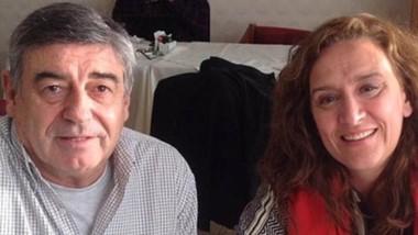 """Otros tiempos. Mario Cimadevilla y Gabriela Michetti, protagonistas de una trama que revela cómo el Gobierno de Mauricio Macri """"apretó"""" para lograr sus objetivos de impunidad."""