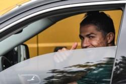 Cristiano Ronaldo regresó a Italia tras su aislamiento en Portugal para entrenar por primera vez tras el parate por el coronavirus.