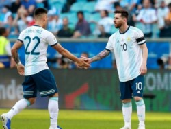 Messi se refirió al posible fichaje de Lautaro Martínez: