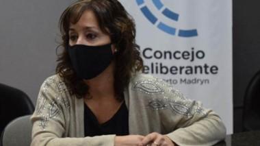 La viceintendenta de Puerto Madryn y presidenta del concejo deliberante portuario, Noelia Corvalán.