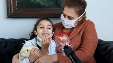 Mamá Daniela  y su pequeña hija Lucía, contaron a Jornada Play, una conmovedora historia de solidaridad.