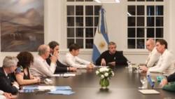 Alberto Fernández, Larreta y Kicillof coincidieron en que no es momento de flexibilizar más la cuarentena.