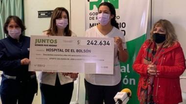 Fondos. El hospital de El Bolsón decide el destino de los recursos.