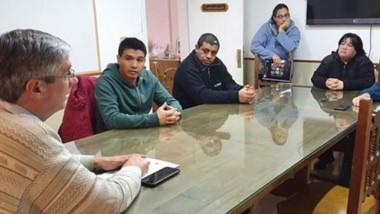 El intendente de Esquel se reunió con empleados municipales.