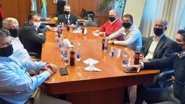 La reunión de Directorio fue encabezada por el vicepresidente 1º, a cargo de la presidencia Javier Alvaredo.