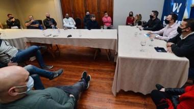 Nueva reunión que llevó adelante Maderna con el sector comercial.