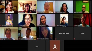 Estudiantes de la UDC participan en los encuentros virtuales de la Red.