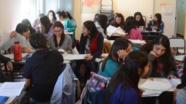 Alumnos. El Ministerio de Educación propuso varias estrategias para la pedagogía pese a la pandemia.
