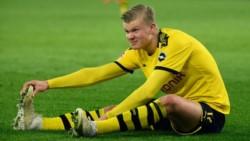 El noruego acumula dos partidos sin goles. Tuvo que salir del duelo con el Bayern por una lesión.