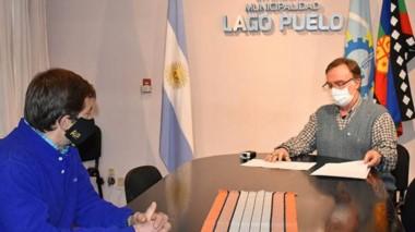 Obras son amores. Sánchez anunció más pavimentación para Las Golondrinas.