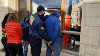 La marihuana venía en una encomienda de la provincia de Misiones.