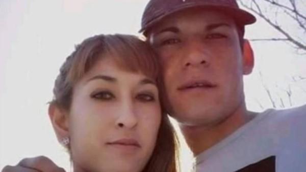 Los detenidos, Cintia Flores y su novio, Lucas Ortiz.