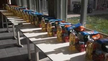 Estos son los módulos de alimentos que recibirán las familias.