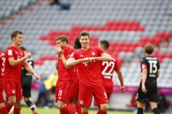 Doblete de Lewandowski en la abultada victoria del equipo bávaro.