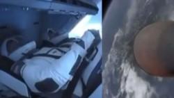 Los astronautas de la NASA Robert Behnken y Douglas Hurley viajaron a bordo de la nave espacial Crew Dragon de SpaceX.