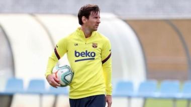 Lionel Messi habla del futuro tras la epidemia de Covid-19.