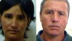 María Esperanza Fernández, la víctima. Roberto Romero (46), era intensamente buscado.