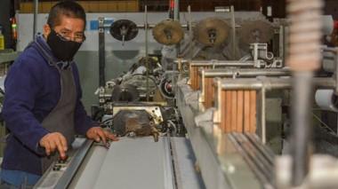 Textiles. Uno de los sectores que tendría alternativas de oxígeno si se aprueba el proyecto de ordenanza.