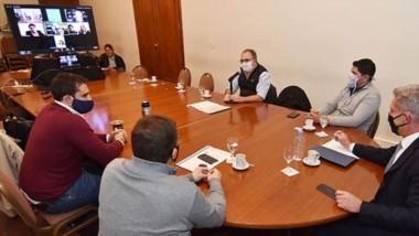 Ayer se suscribió de manera digital el convenio con el INAES para el desarrollo de la economía social.