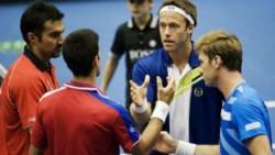 El día que Djokovic jugó bajo los efectos del alcohol: perdió un dobles de Copa Davis ante Lindstedt y Aspelin.